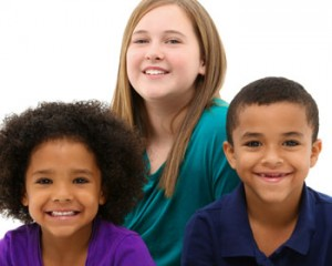 Photo of kids smiling